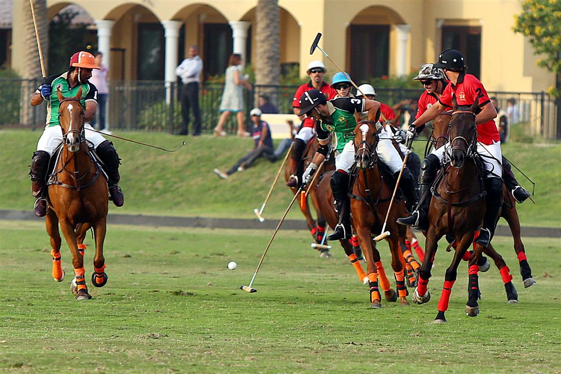 Dubai Gold Cup 2013 - semifinal results of today`s match - Ghantoot Polo Team vs Bin Drai Polo Team